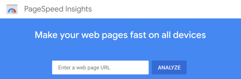 PageSpeed, CRO